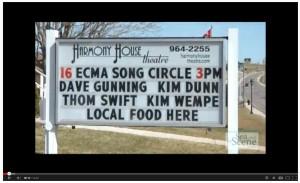 ECMA Song Circle at Harmony House Theatre