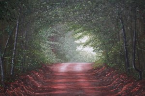 Grady Road - Oil on Canvas, 36x48 inches - Kris Taylor Art