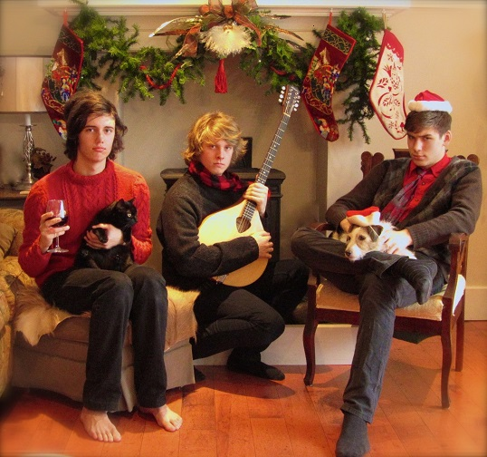ten strings and a goat skin - christmas photo