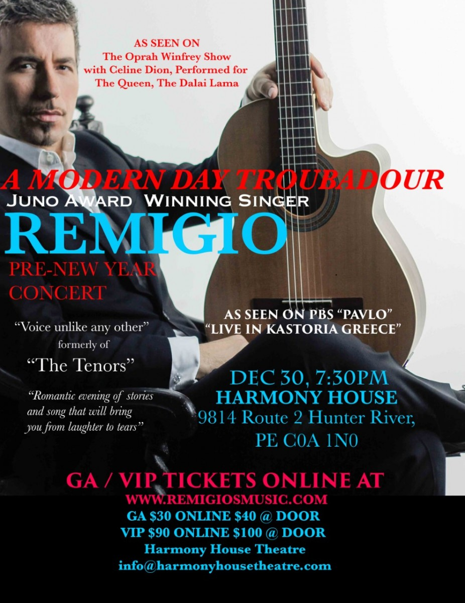 Remigio - Pre-New Year Concert