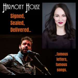 Signed, Sealed, Delivered. famous letters, famous songs